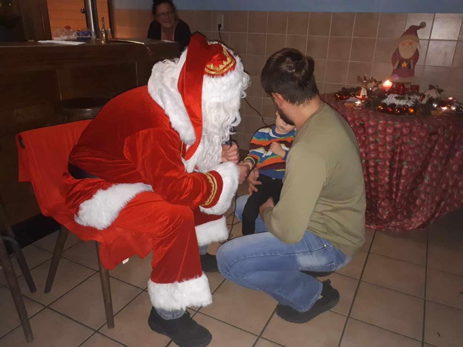 Der Nikolaus bei uns im Vereinsheim